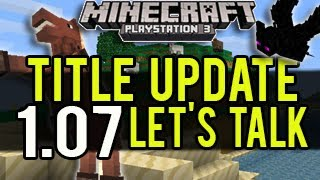 Minecraft (PS3 And Xbox 360) Title Update 1.07 (TU17