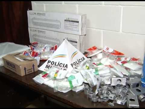Homem é flagrado com diversos objetos furtados no bairro Esperança