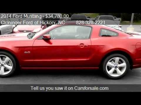 2014 Ford Mustang GT - for sale in Hickory, NC 28602
