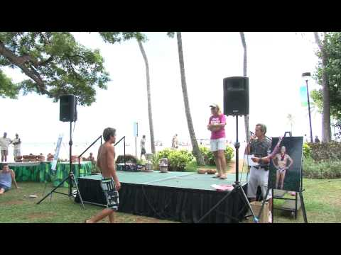 AWARDS MALE AGE GROUP  15yrs to 16yrs  2011 Waikiki Rough Water Swim
