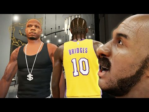 The NBA 2k16 Horsley My Career Story Ep. 9 of 10 - NBA Debut w/LAKERS! Horsley Going Crazy?