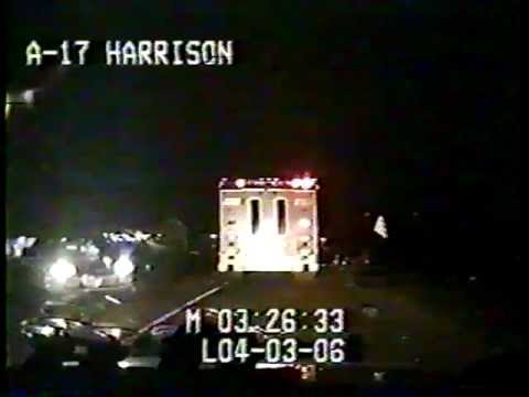 Truck Hits Trooper at over 80mph!