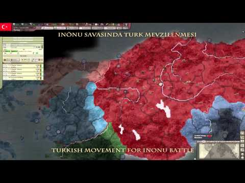 Turkish War of Indepence MOD for Hearts Of Iron 3 Their Finest Hour
