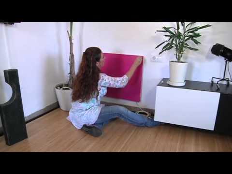 Il pannello di riscaldamento elettrico a basso consumo youtube for Scaldabagno elettrico basso consumo