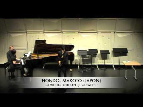 HONDO, MAKOTO (JAPON) KOTEKAN by Piet SWERTS