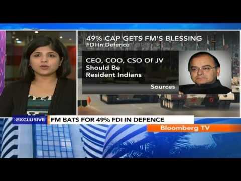 Market Pulse: FM Bats For 49% FDI In Defence
