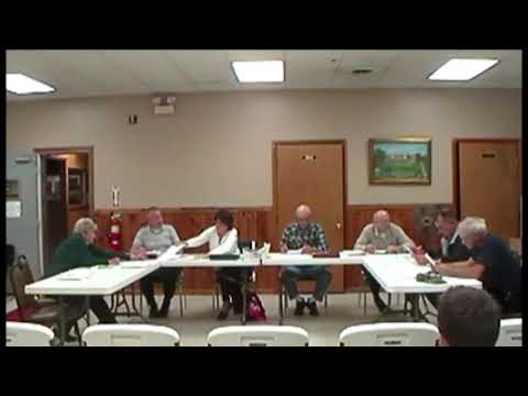 Altona Town Board Meeting 10-7-13