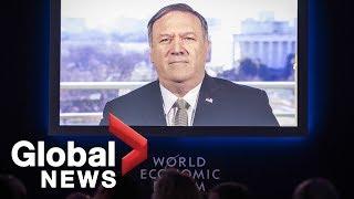 Mike Pompeo's FULL address to World Economic Forum