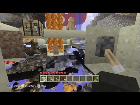 Minecraft x-ray glitch tutorial - solo doesn't need two people! (xbox 360 edition) HD