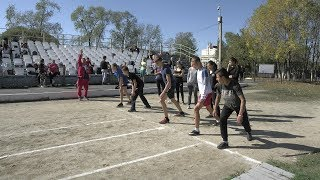 Быстрее, выше, сильнее. Школьники Артёма сошлись на  Президентских спортивных состязаниях.