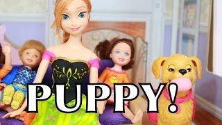 Frozen anna kids name puppy zoe disney barbie doll toys play doh