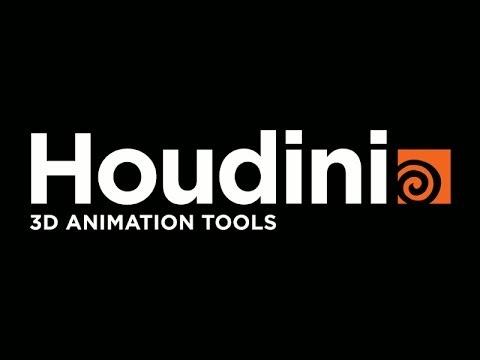 Урок по Houdini и TouchDesigner часть 1
