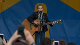 11-Year-Old Walmart Yodeler Gets Concert Performance