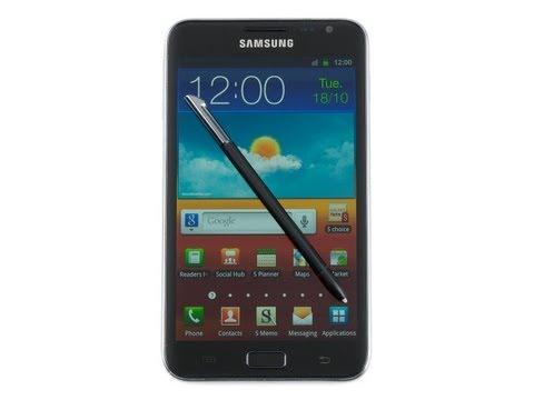 Samsung GALAXY Note Review -kA-8ya2mscQ