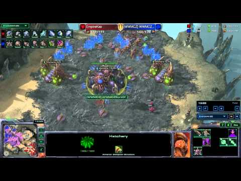 HD Starcraft 2 Kas v SortOf TvZ Heart of the Swarm g1