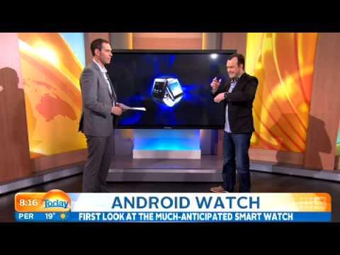 Google watch demo