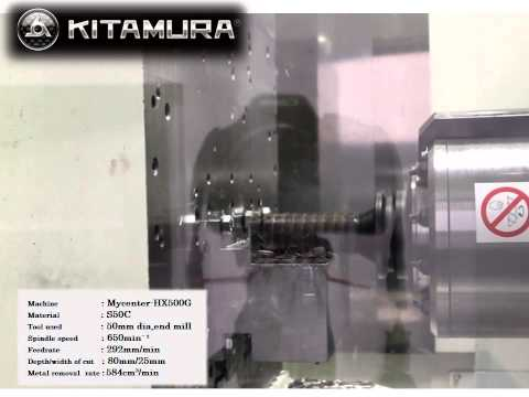 NEW Kitamura Mycenter HX500G - Highly Productive and Efficient Horizontal Machining