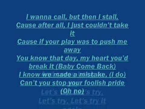Hall & Oates Hall & Oates : Baby Come Back ... - Song Lyrics
