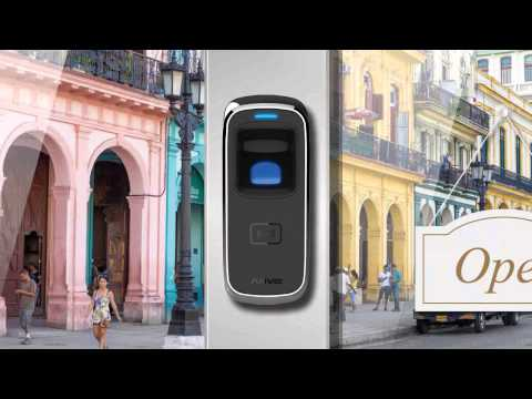 Anviz video presentazione M5 controllo accesso
