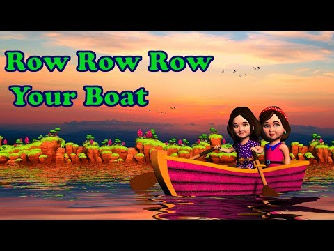 Row Row Row Your Boat ,Song, Lyrics | Nursery Rhymes Collection and Kids Songs from Mum Mum TV