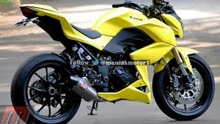 Kawasaki Z250 Custom Yellow