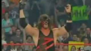 WWE Kane Takes Off His Mask