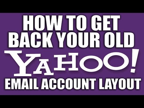 How to Get Back your old yahoo Email Account