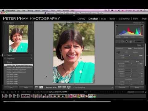 Học Lightroom 4 - 045 Xử lý ảnh chân dung 2