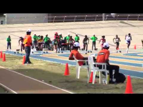 Barbados Today BSSAC Exclusive: 100M Under 20 Girls
