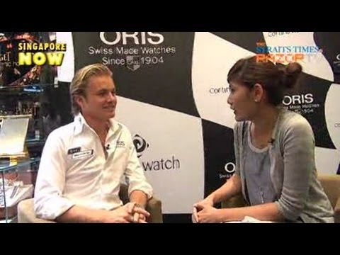 I have to watch my diet (Nico Rosberg Pt 3)