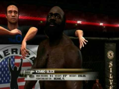 UFC UNDISPUTED 2010- Kimbo Slice v. Brock Lesnar (full fight)