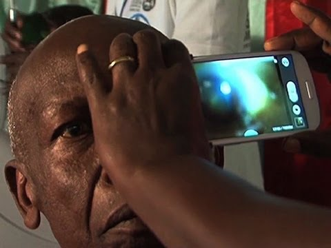 Phone app for eye care debuts in Kenya
