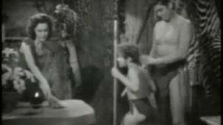 Tarzan Concrete Jungle Scene
