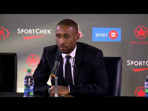 Defoe/Bradley Press Conference: Jermain Defoe