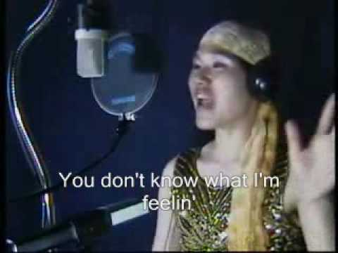 Listen by Beyonce - Korean Boy Karaoke Fail with Subtitles, and