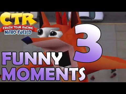 Crash Team Racing: Nitro Fueled FUNNY MOMENTS 3 (Wins, Fails, Glitches)