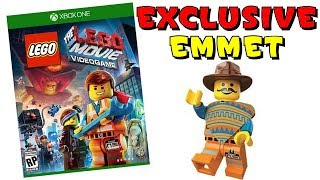 LEGO Movie Video Game with Exclusive Emmet Minifigure
