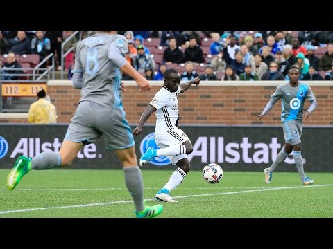 VIDEO: Watch Ema Boateng's near-miss against Minnesota United in MLS