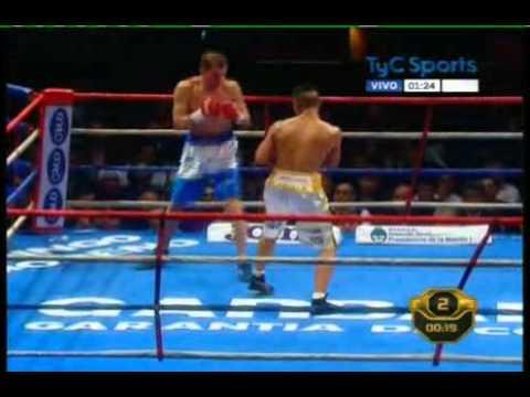 Javier MACIEL vs Alejandro FALLIGA - WBO - Full Fight - Pelea Completa