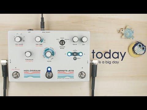 Hologram Electronics Infinite Jets Resynthesizer Pedal