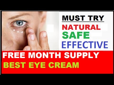 0 Best Eye Cream Free Month Supply Under Eye Creams Anti Wrinkle Dark Circles Reviews