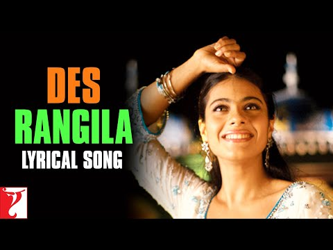 Des Rangila - Song with Lyrics - FANAA