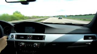 2011 BMW 335i @ Vmax on German Autobahn videos
