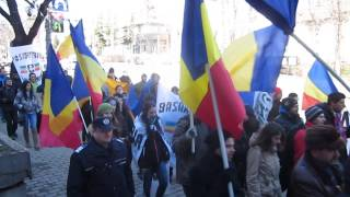 Mar unionist la Iai. 24 martie 2013