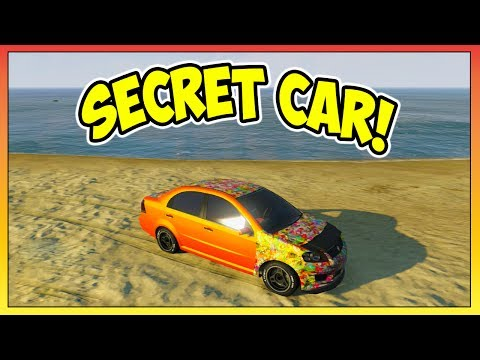 GTA 5 - SECRET CAR