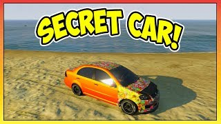 "GTA 5 SECRET CAR ""Asea"" Location/Tutorial! RAREST Car"