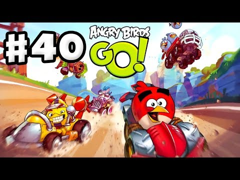 Angry Birds Go! Gameplay Walkthrough Part 40 - Air Attacks! Air (iOS, Android)