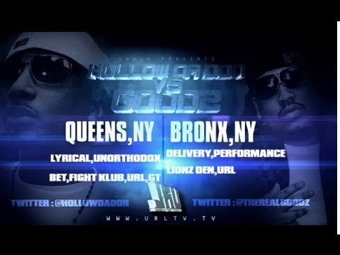 SMACK / URL Presents Hollow Da Don vs Goodz