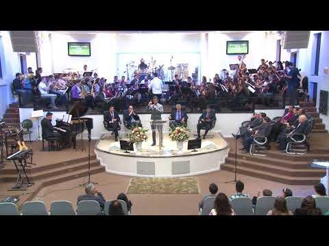 Orquestra Sinfônica Celebração - Harpa Cristã   Nº 166   Deixa entra o Rei da Glória - 19 08 2018