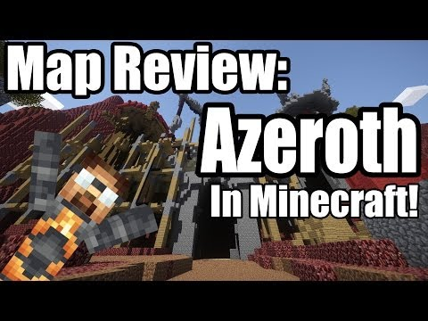 Minecraft Map review : Azeroth in minecraft?